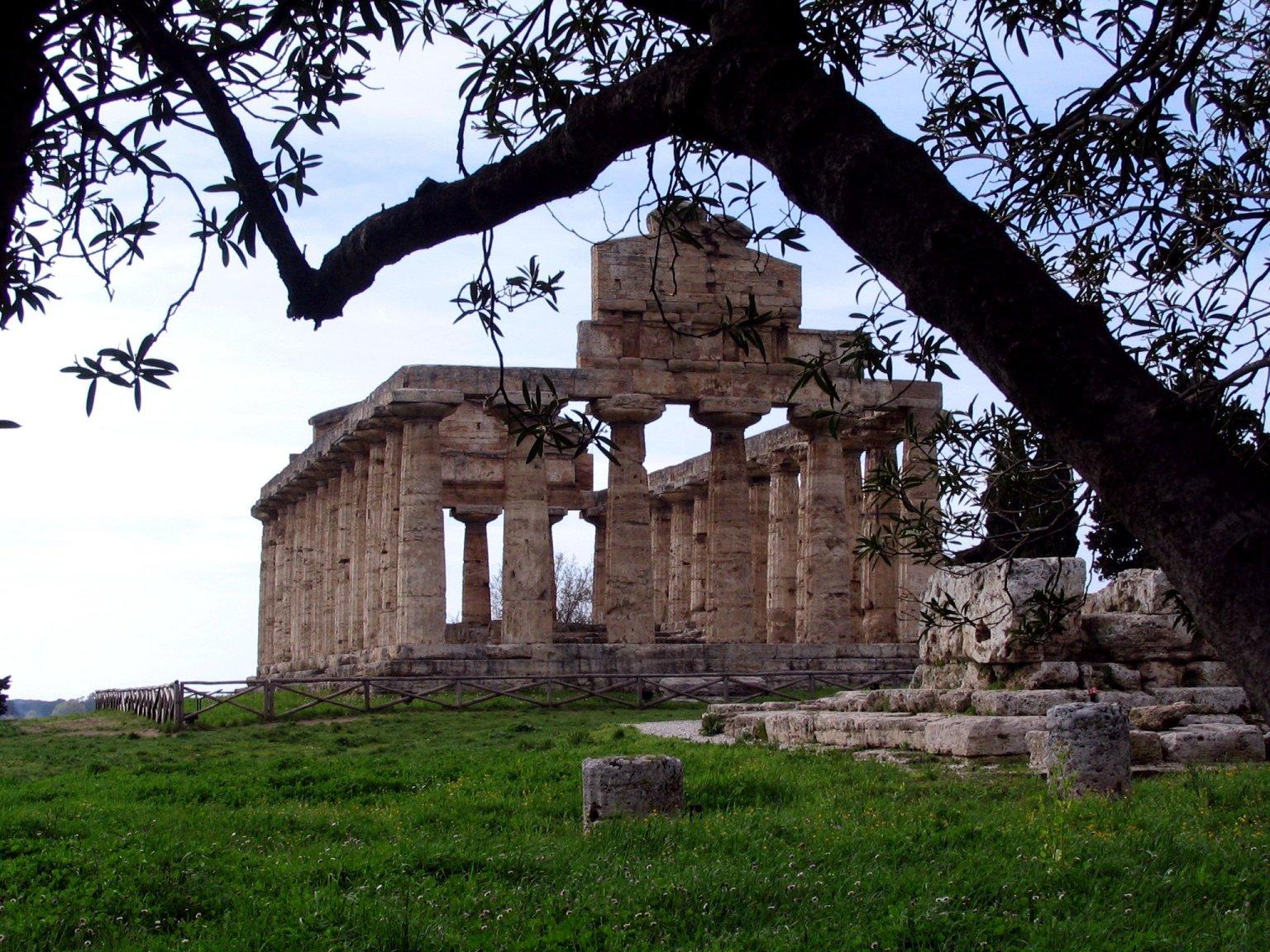 Tempio di Era a Paestum